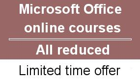 Microsoft office online courses